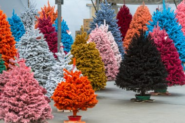 Fake Christmas trees: What
