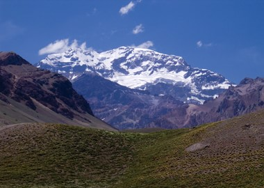 Aconcagua, the heighest point of South America