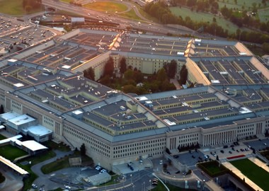Long, long corridors of the Pentagon