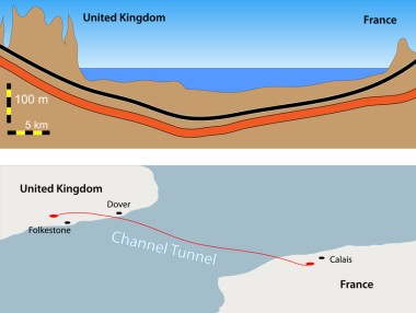 English Channel: Underwater statistics